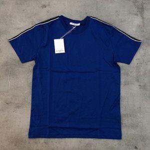 "Givenchy Men Shoulder Line Blue T-Shirt ""XL"""